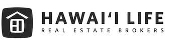 Hawaii Life Real Estate Broker logo dark