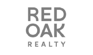 Red Oaky Realty Logo transparent background