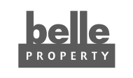 belle property real estate agency Australia logo