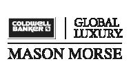 Coldwell Banker Global Luxury Mason Morse Logo