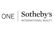 One Sotheby's International Realty logo transparent background