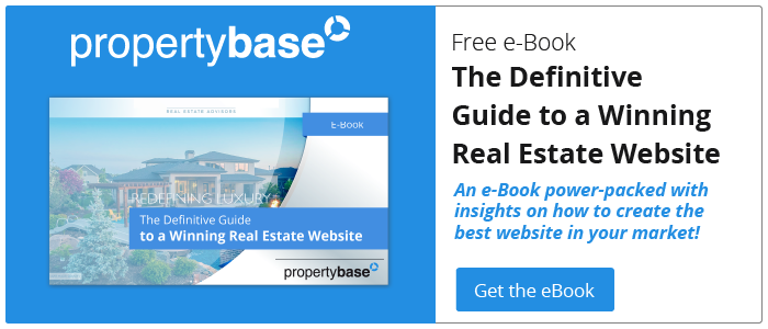 Get the Definitive Guide to a winning real estate website e-book