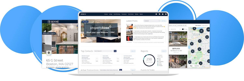 Propertybase GO platform for real estate teams
