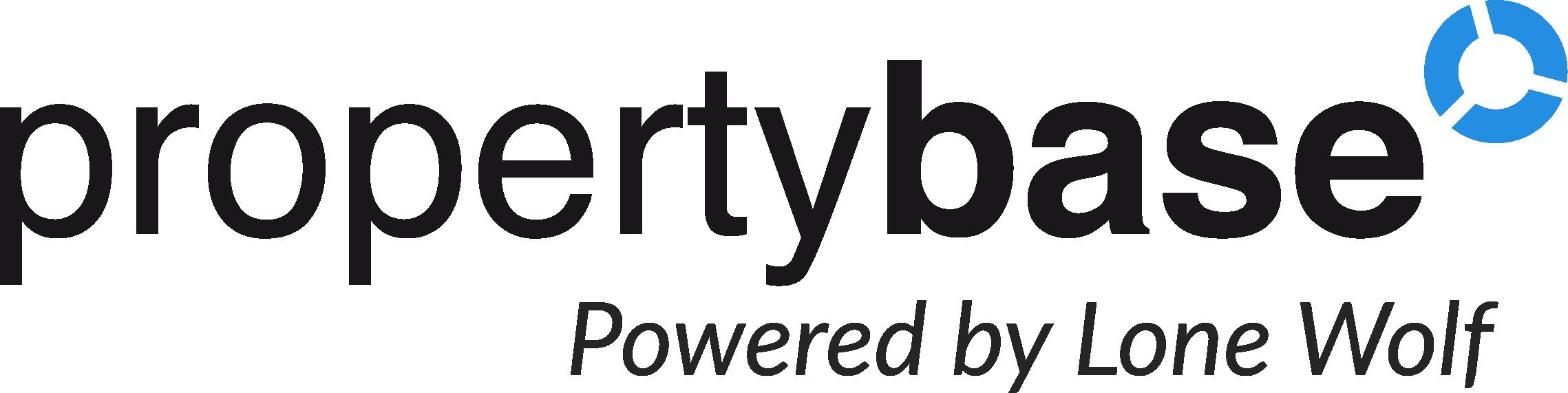 propertybase logo black and blue